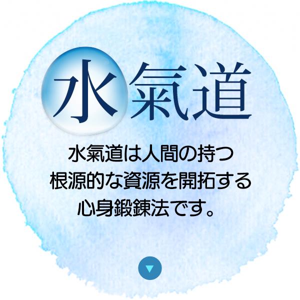 水気道・水気道は人間の持つ根本的な力を高める為の気道法です。